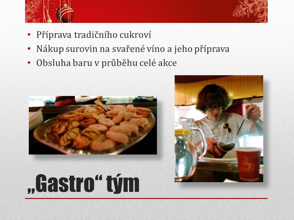 """""""Gastro tým Příprava tradičního cukroví"""