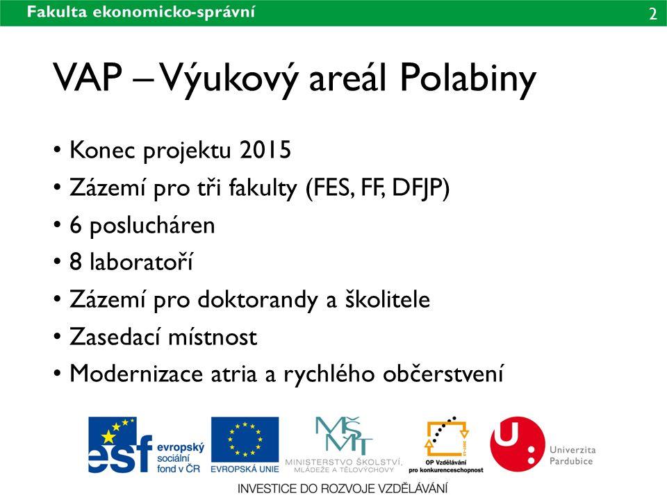 VAP – Výukový areál Polabiny
