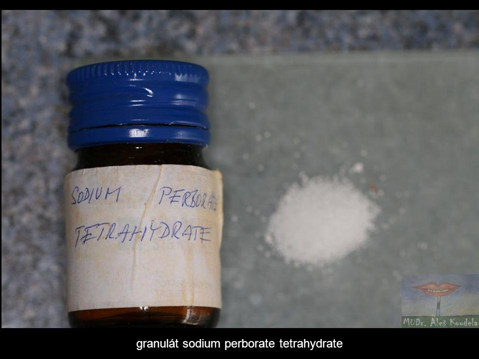 granulát sodium perborate tetrahydrate