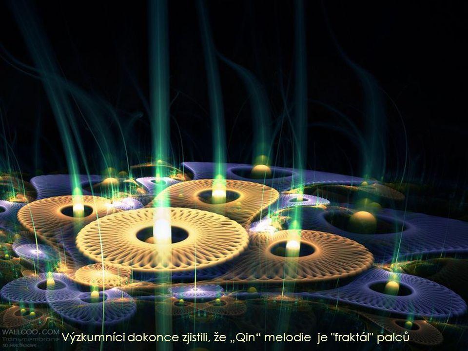 """Výzkumníci dokonce zjistili, že """"Qin melodie je fraktál palců"""