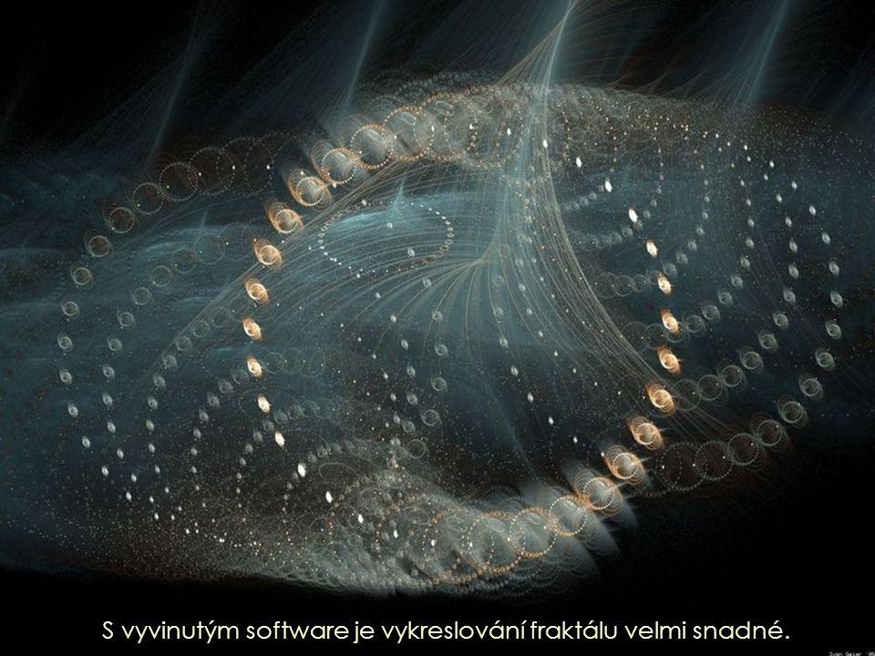 S vyvinutým software je vykreslování fraktálu velmi snadné.