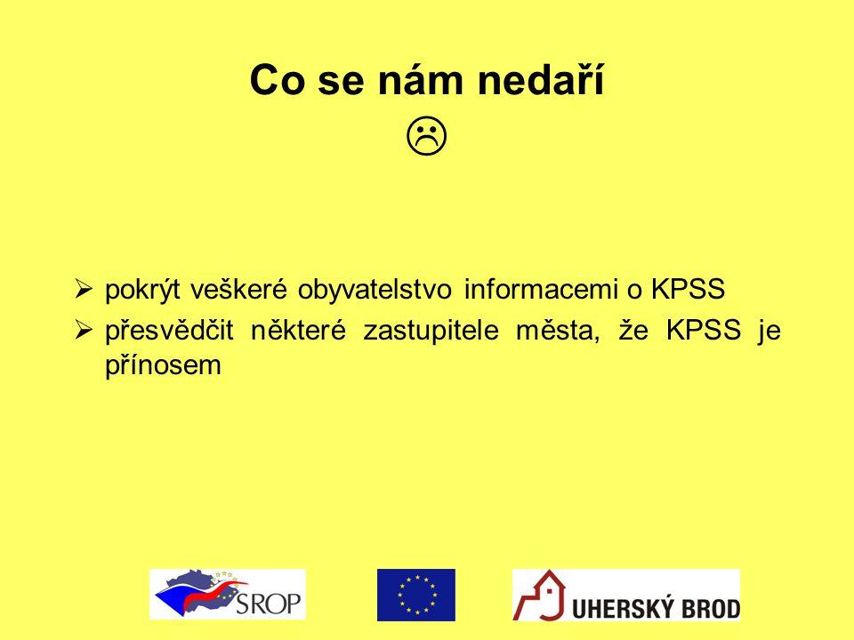 Co se nám nedaří  pokrýt veškeré obyvatelstvo informacemi o KPSS