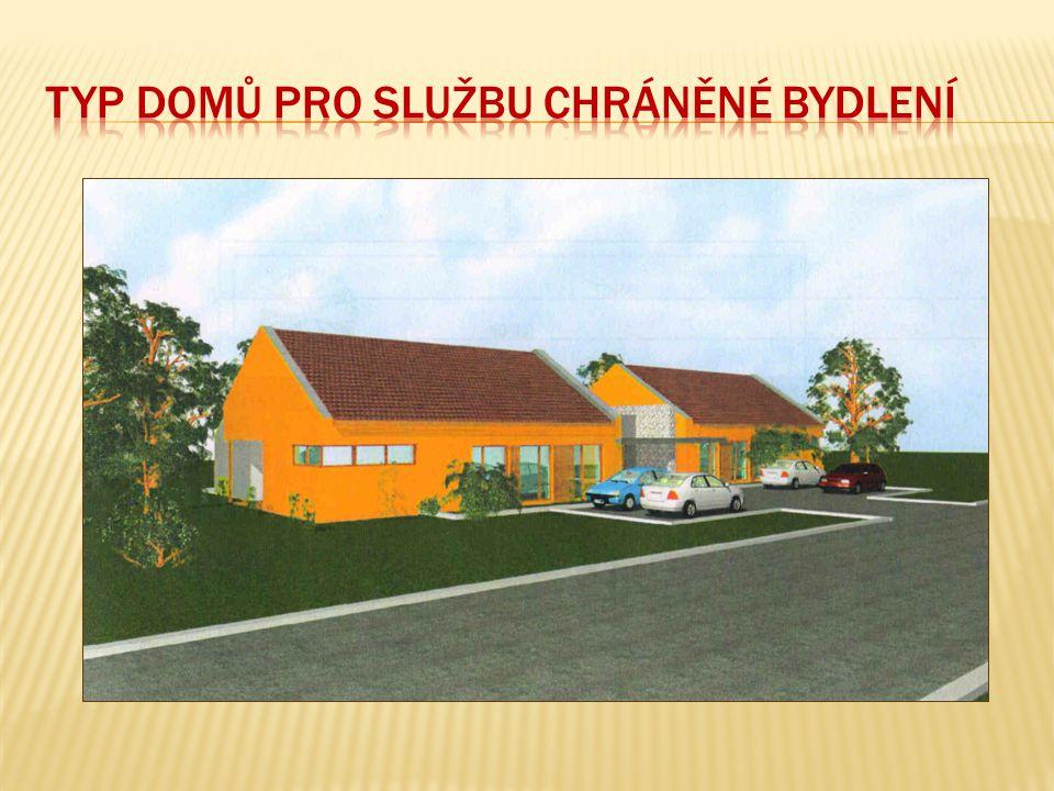 Typ domů pro službu Chráněné bydlení