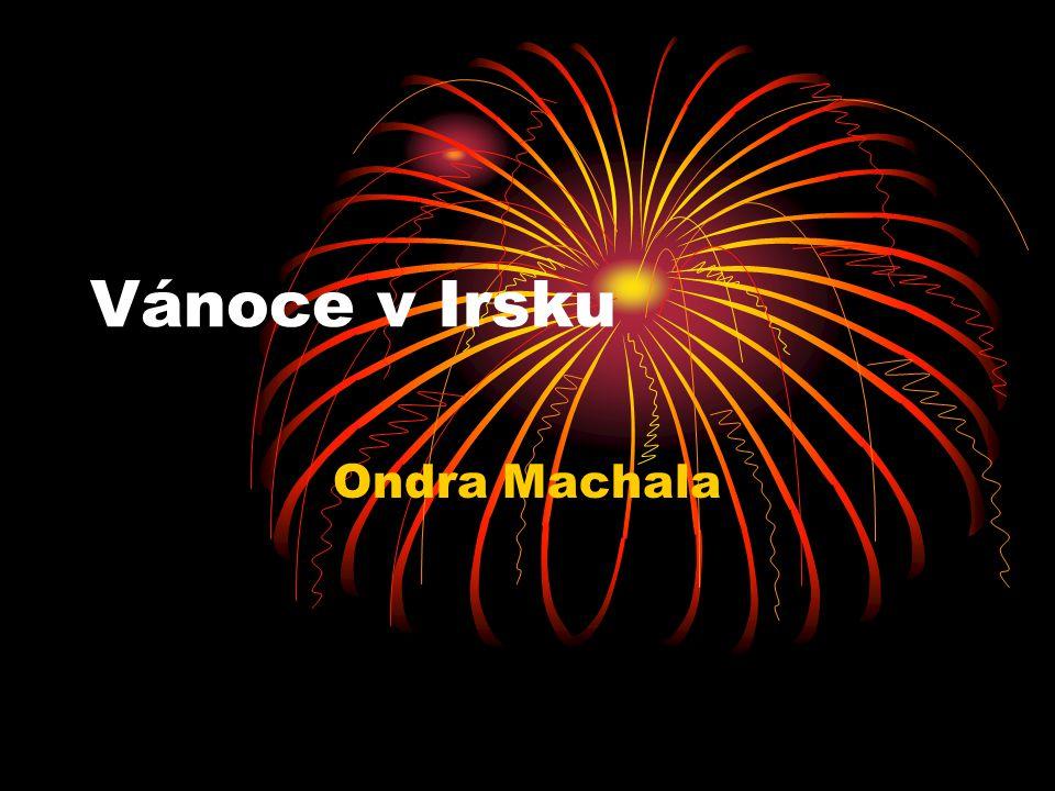 Vánoce v Irsku Ondra Machala