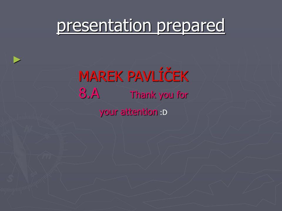 presentation prepared
