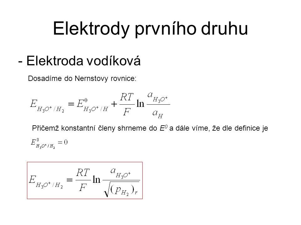 Elektrody prvního druhu