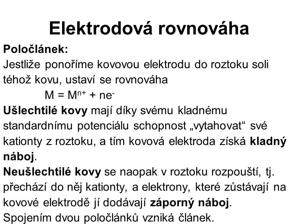 Elektrodová rovnováha