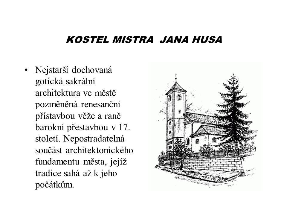 KOSTEL MISTRA JANA HUSA