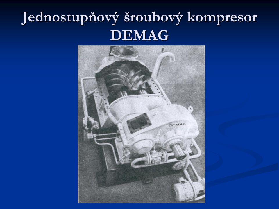 Jednostupňový šroubový kompresor DEMAG
