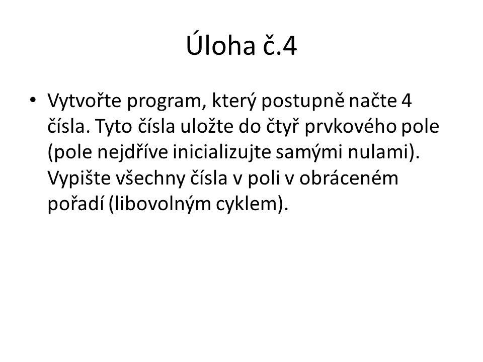 Úloha č.4