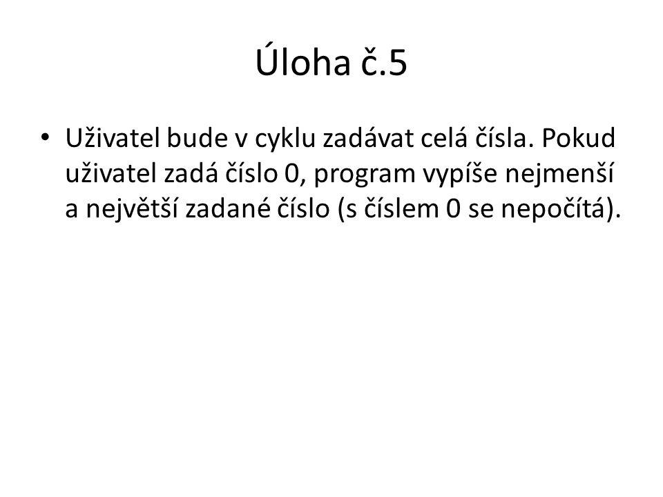 Úloha č.5