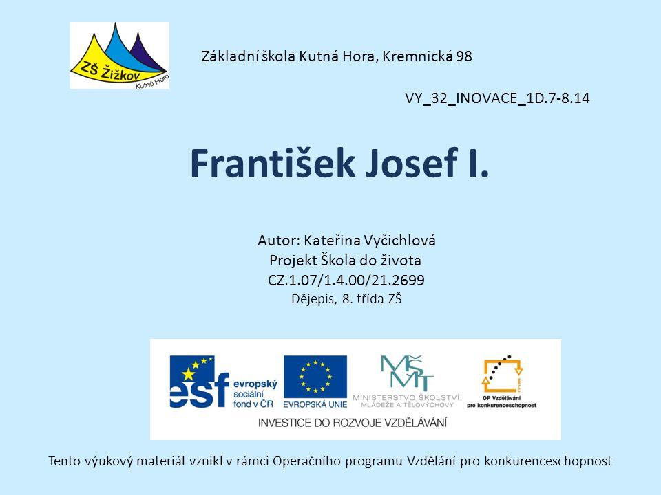 František Josef I. Základní škola Kutná Hora, Kremnická 98