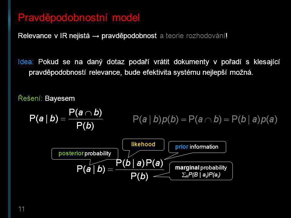 Pravděpodobnostní model
