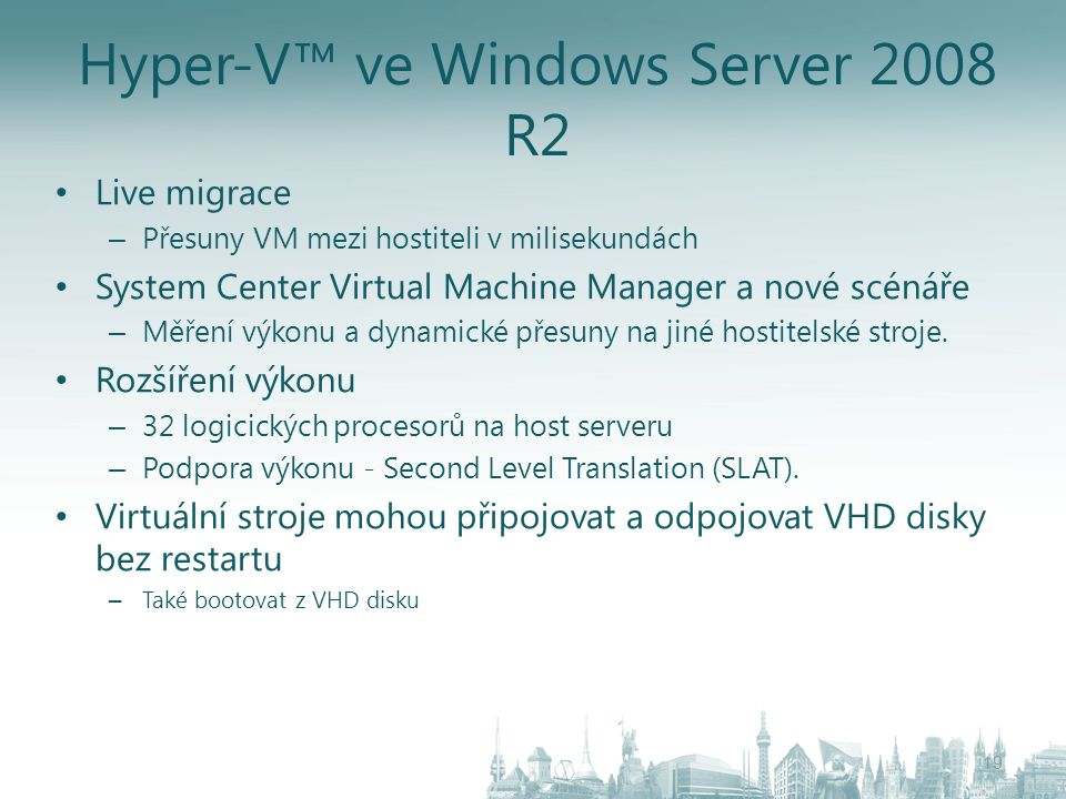 Hyper-V™ ve Windows Server 2008 R2