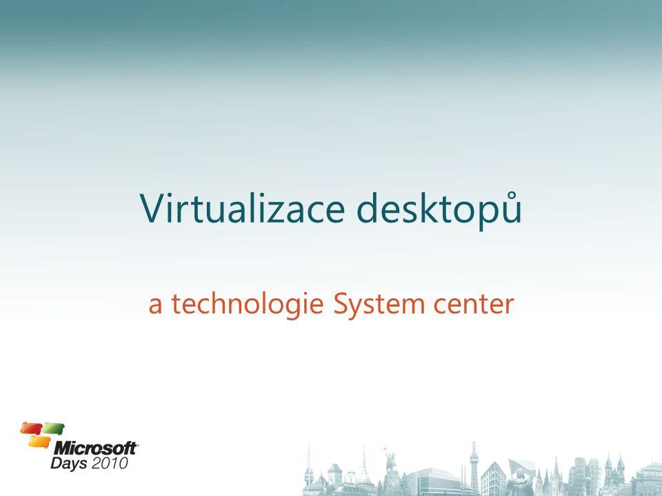 Virtualizace desktopů