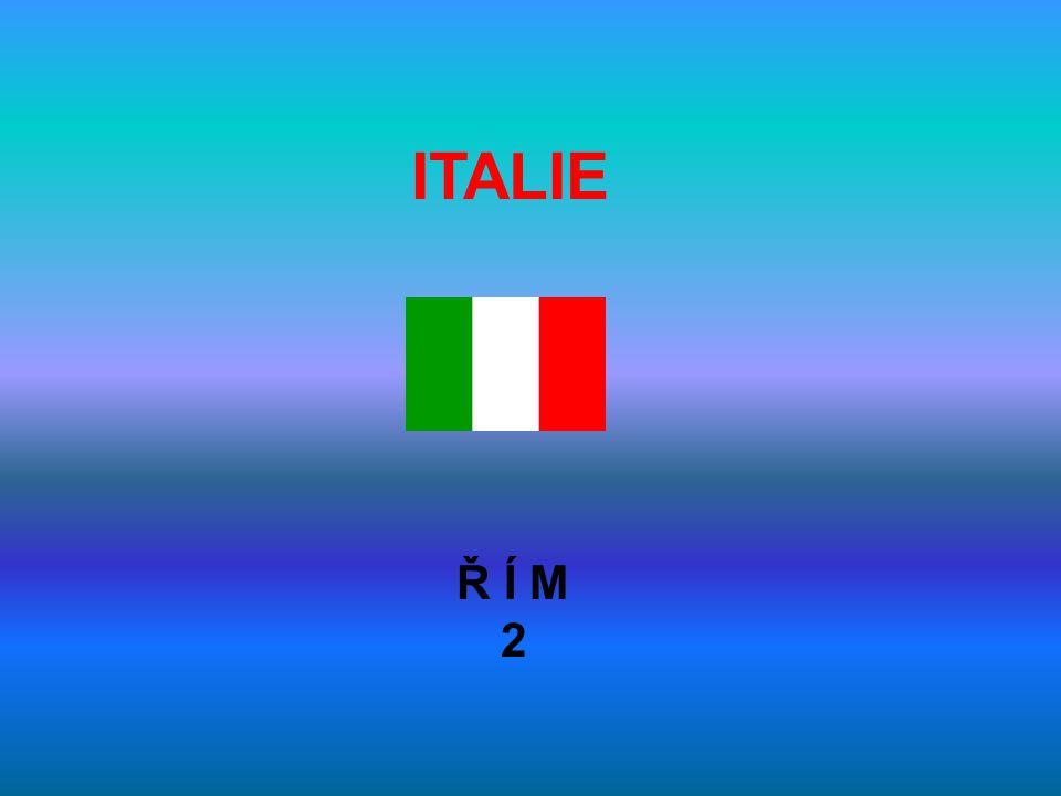 ITALIE Ř Í M 2