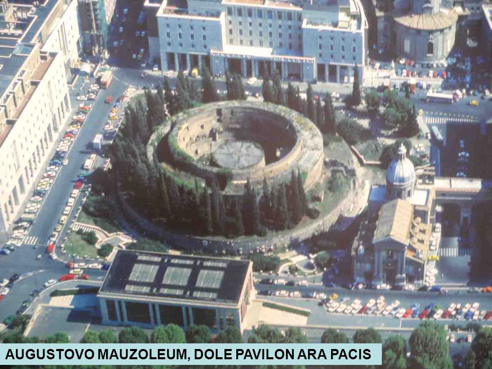 AUGUSTOVO MAUZOLEUM, DOLE PAVILON ARA PACIS