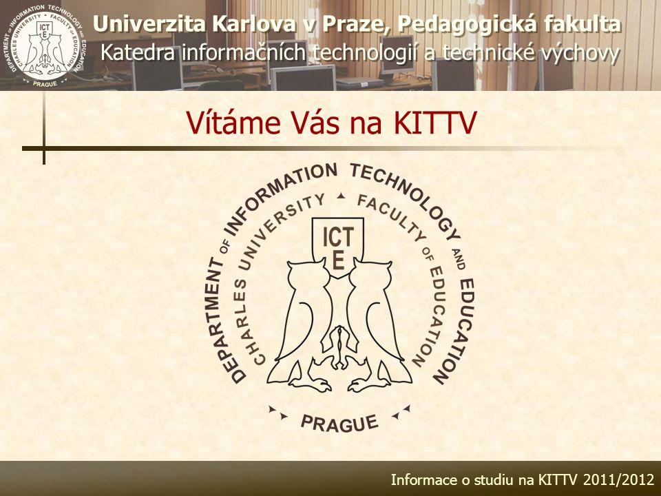 Informace o studiu na KITTV 2011/2012