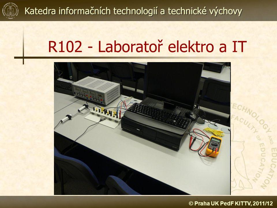 R102 - Laboratoř elektro a IT
