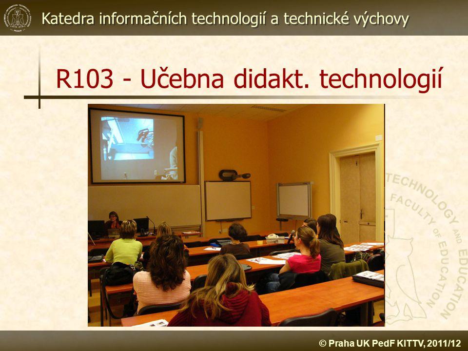 R103 - Učebna didakt. technologií