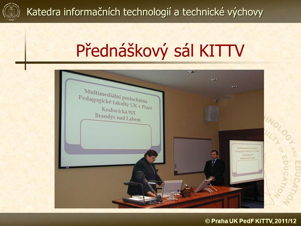 Přednáškový sál KITTV