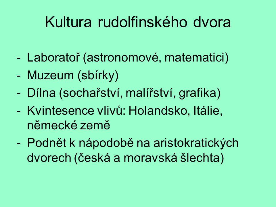 Kultura rudolfinského dvora