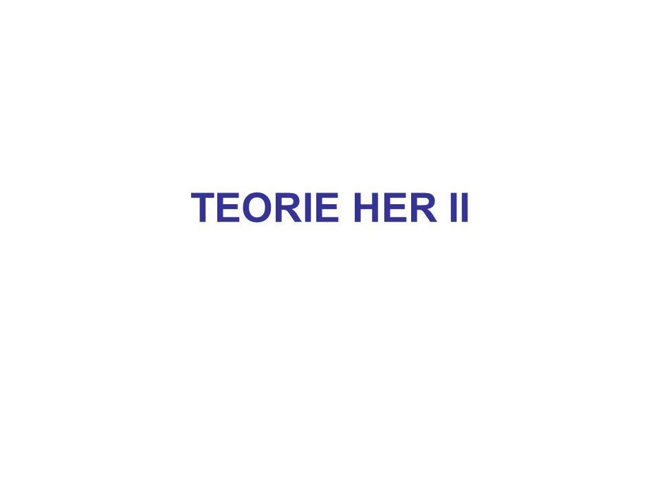 TEORIE HER II