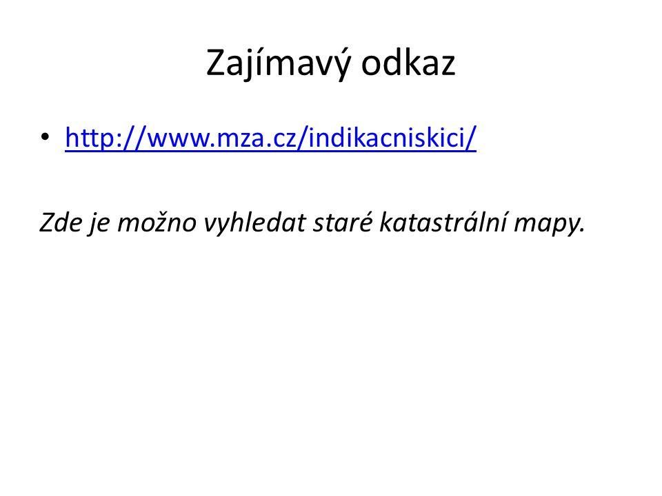 Zajímavý odkaz http://www.mza.cz/indikacniskici/