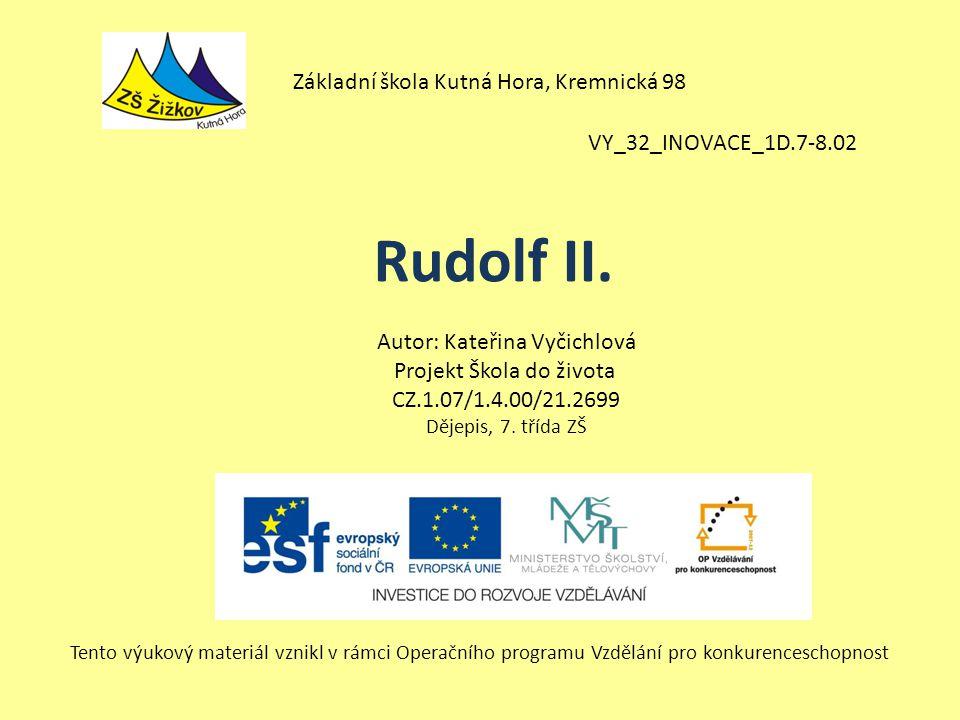 Rudolf II. Základní škola Kutná Hora, Kremnická 98
