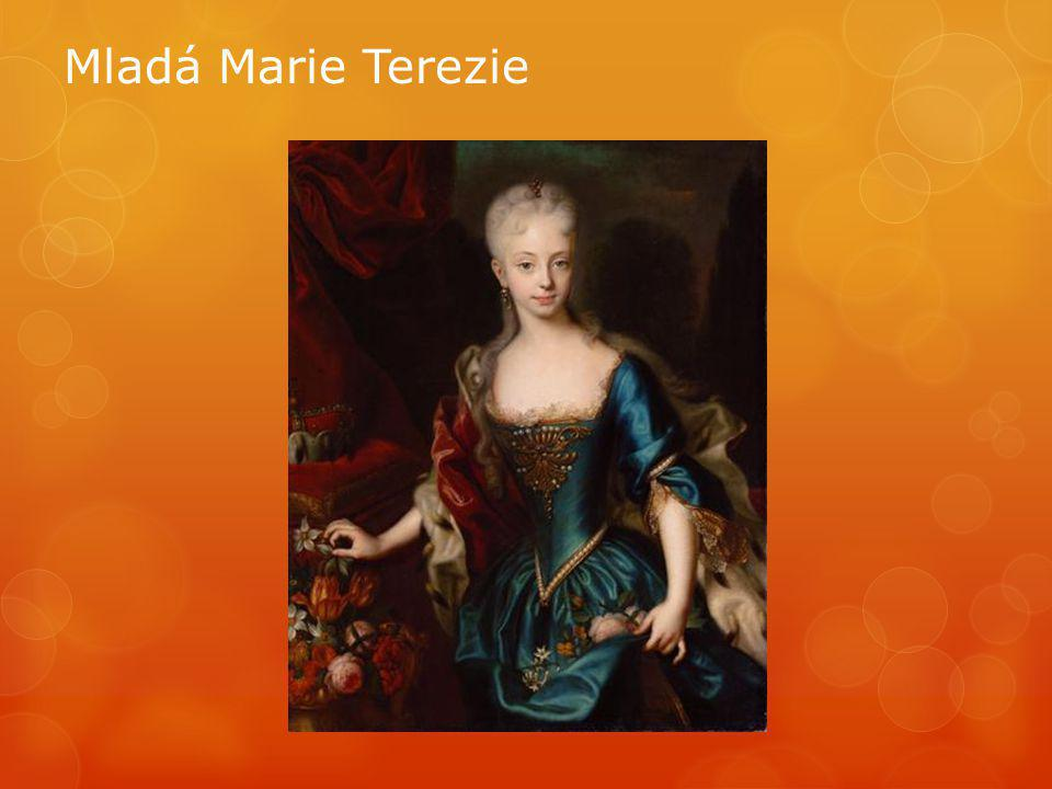 Mladá Marie Terezie