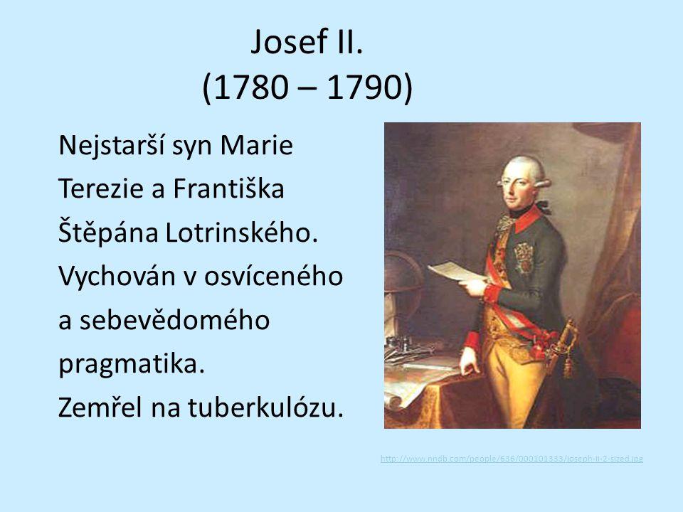 Josef II. (1780 – 1790)