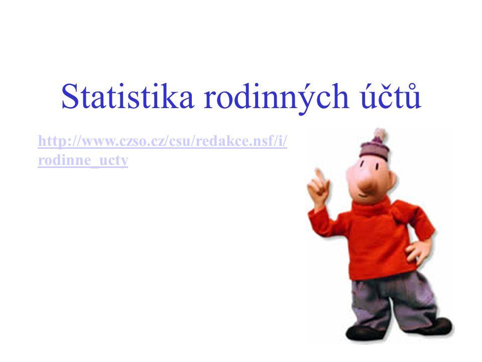 Statistika rodinných účtů