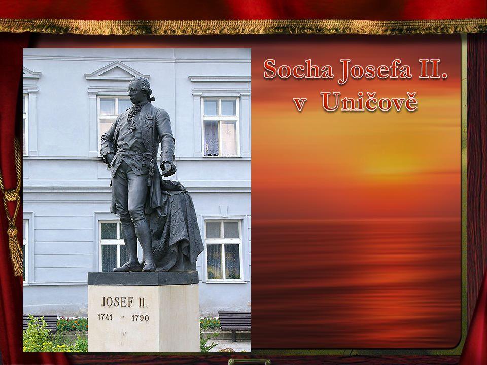 Socha Josefa II. v Uničově