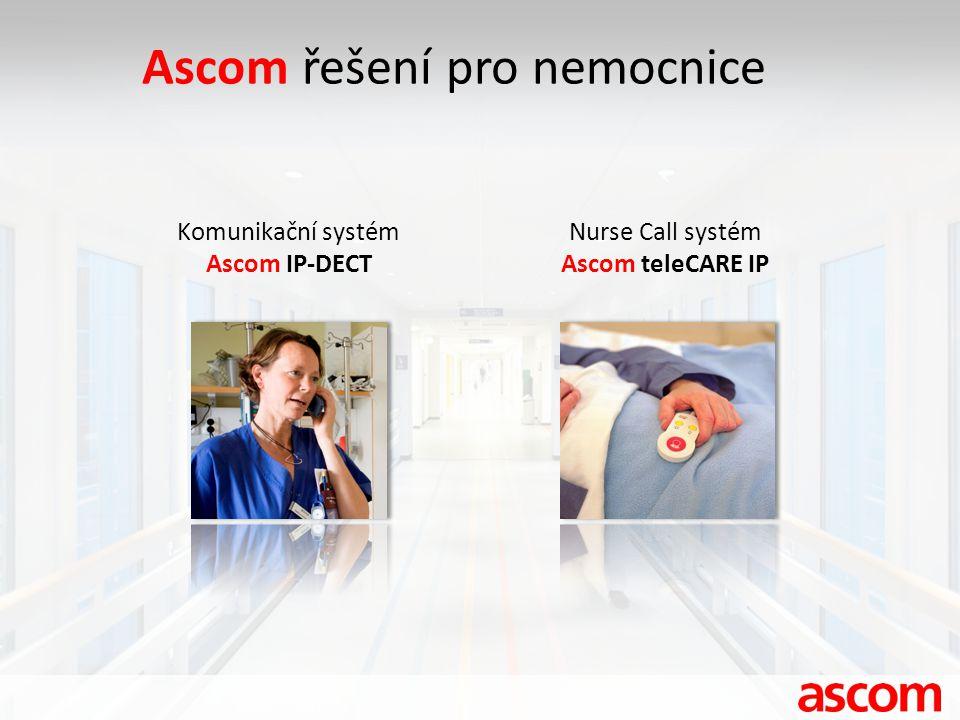 Ascom řešení pro nemocnice
