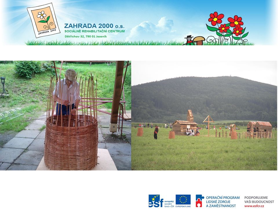 Vojenské obranné koše a jejich použití při Zlatohorských slavnostech