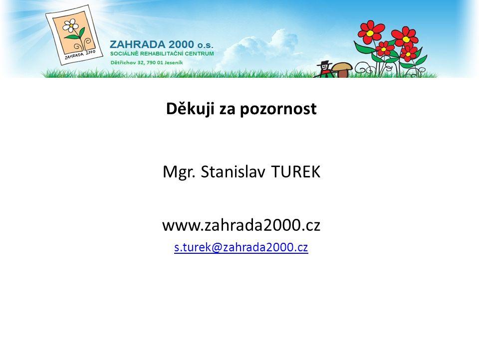 Mgr. Stanislav TUREK www.zahrada2000.cz s.turek@zahrada2000.cz