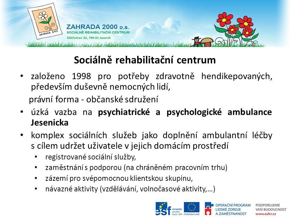 Sociálně rehabilitační centrum