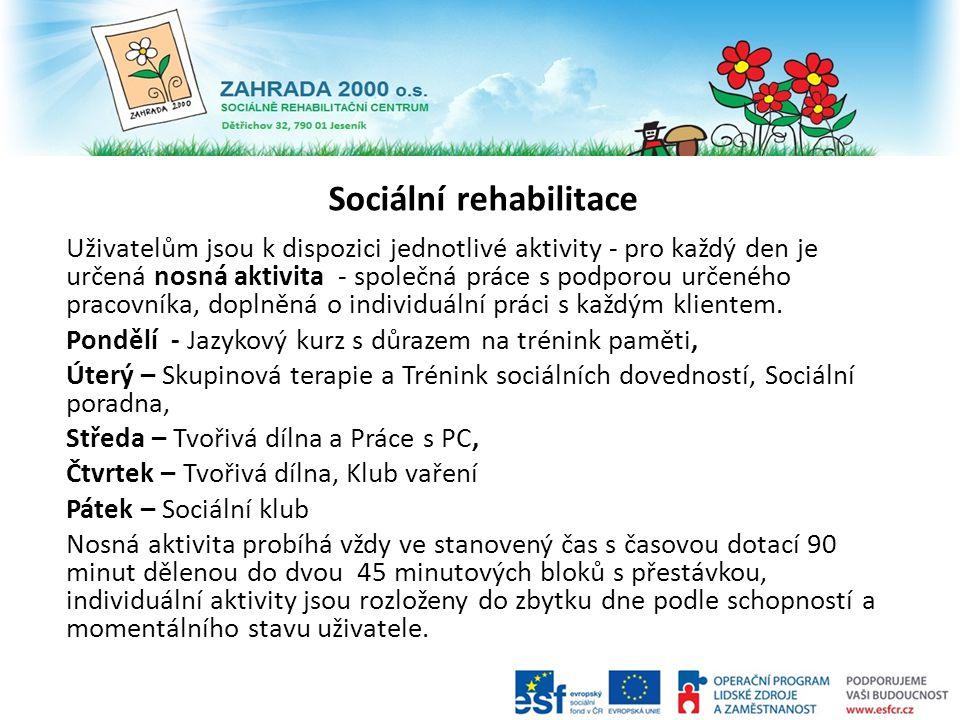 Sociální rehabilitace