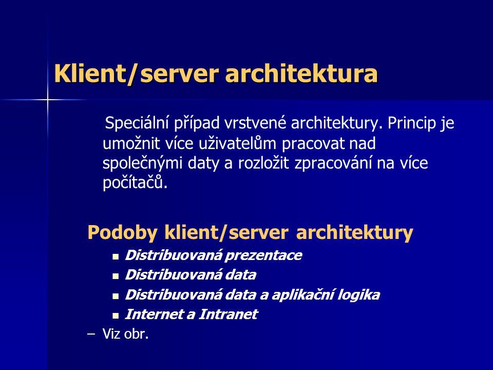 Klient/server architektura