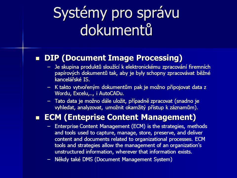 Systémy pro správu dokumentů