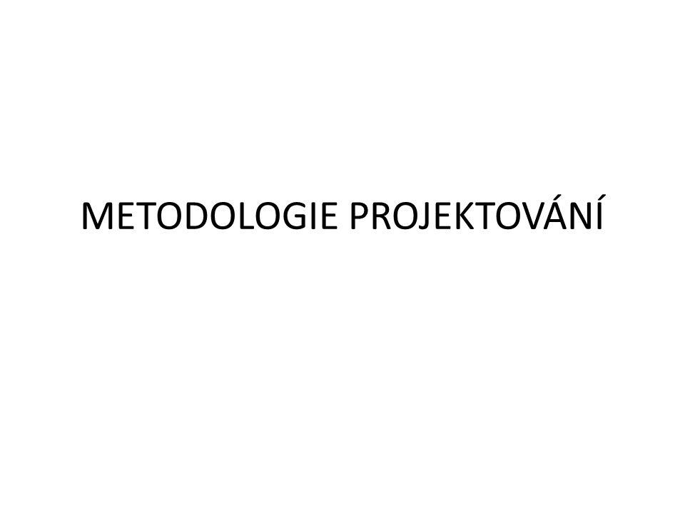 METODOLOGIE PROJEKTOVÁNÍ