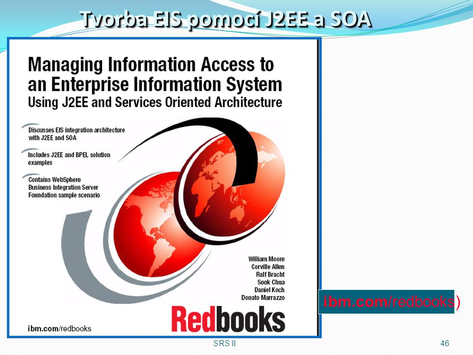 Tvorba EIS pomocí J2EE a SOA