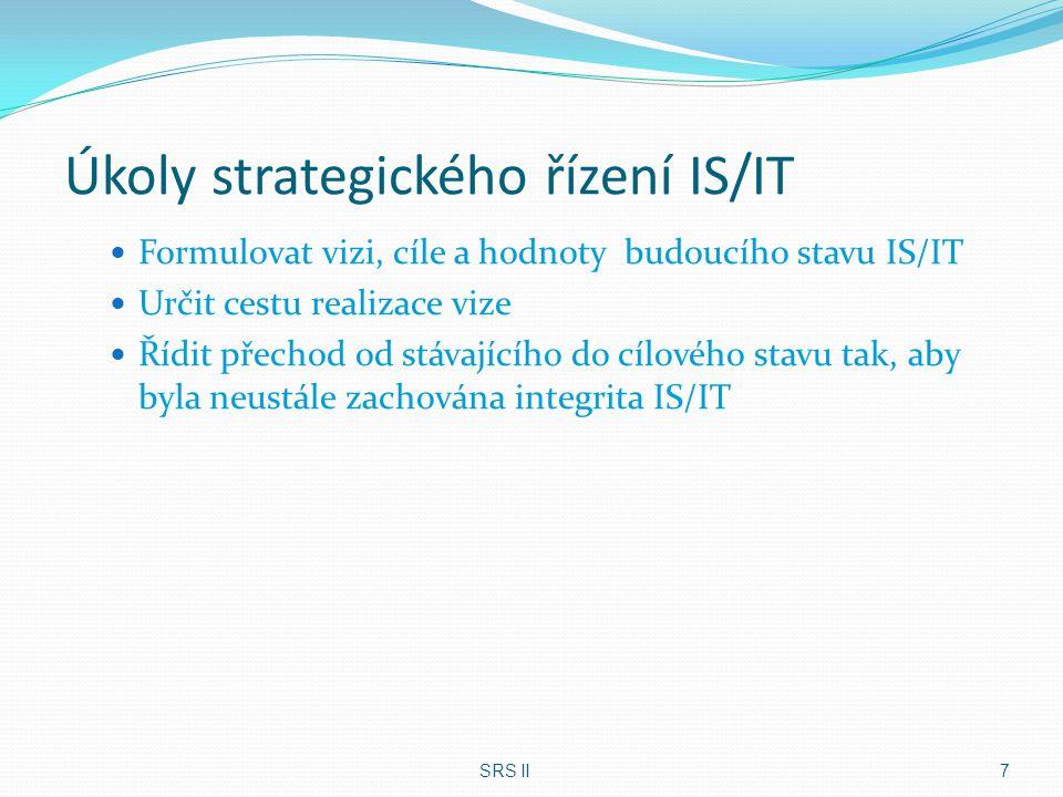 Úkoly strategického řízení IS/IT