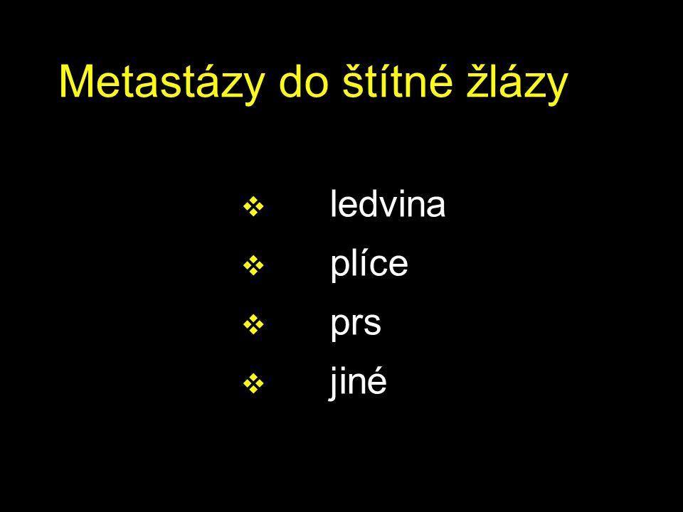 Metastázy do štítné žlázy