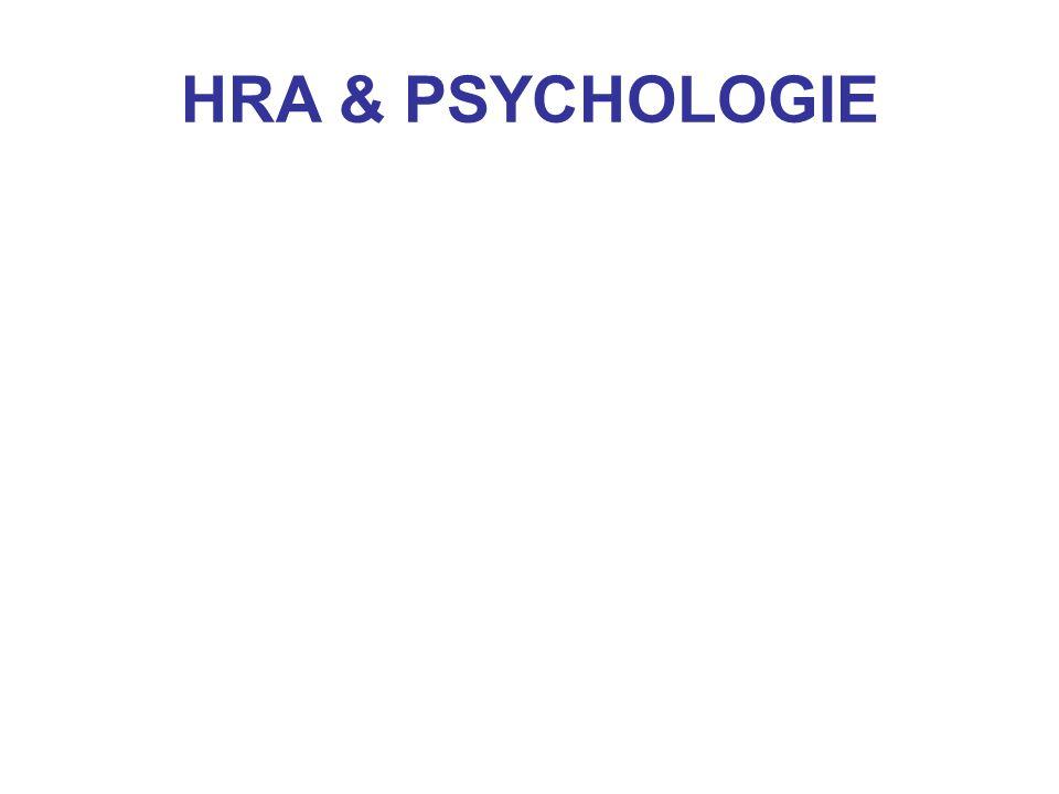 HRA & PSYCHOLOGIE
