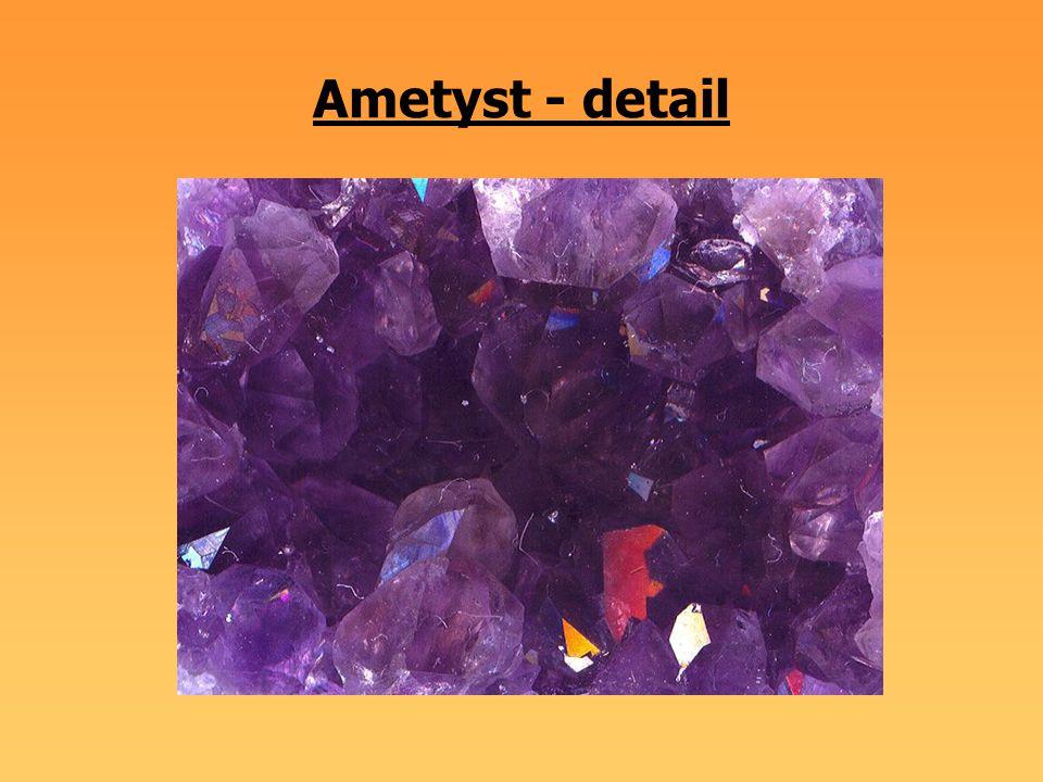 Ametyst - detail