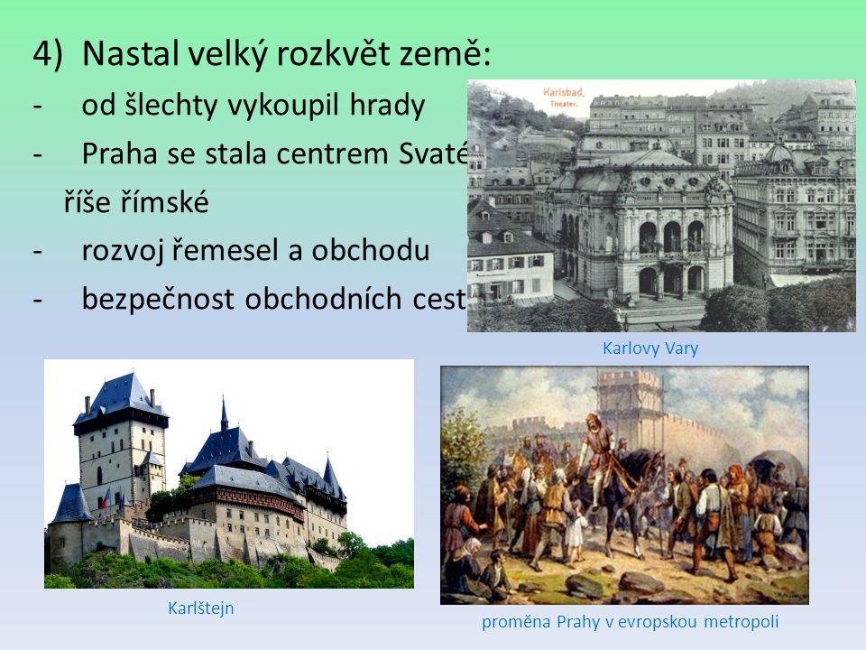 proměna Prahy v evropskou metropoli