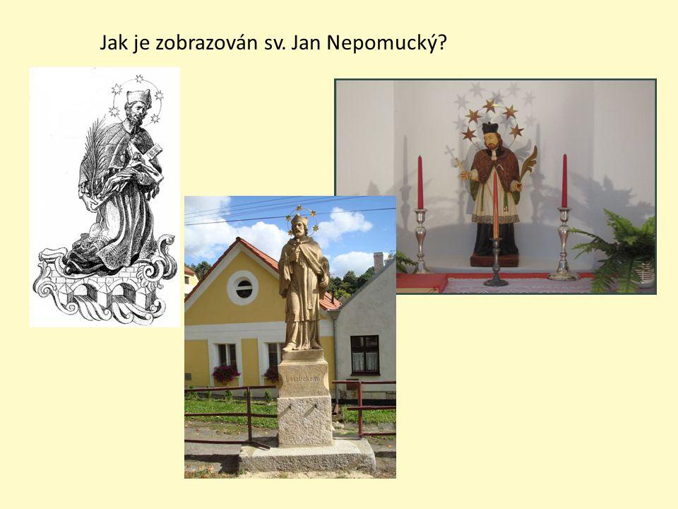 Jak je zobrazován sv. Jan Nepomucký