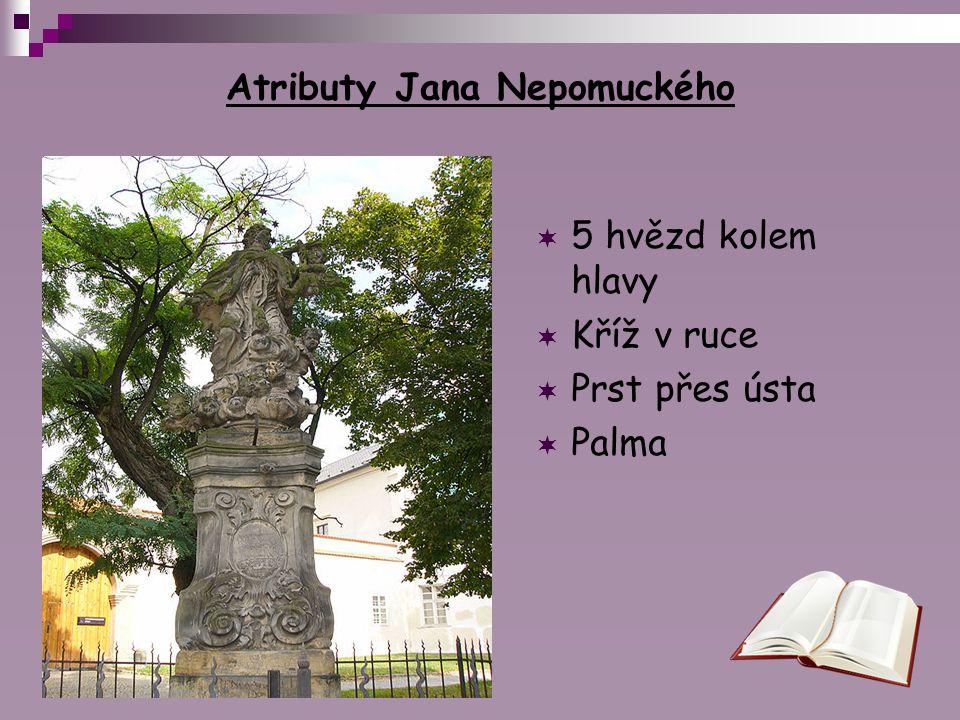 Atributy Jana Nepomuckého