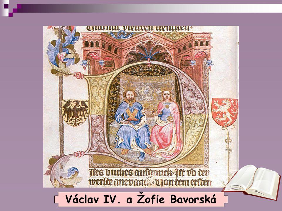 Václav IV. a Žofie Bavorská